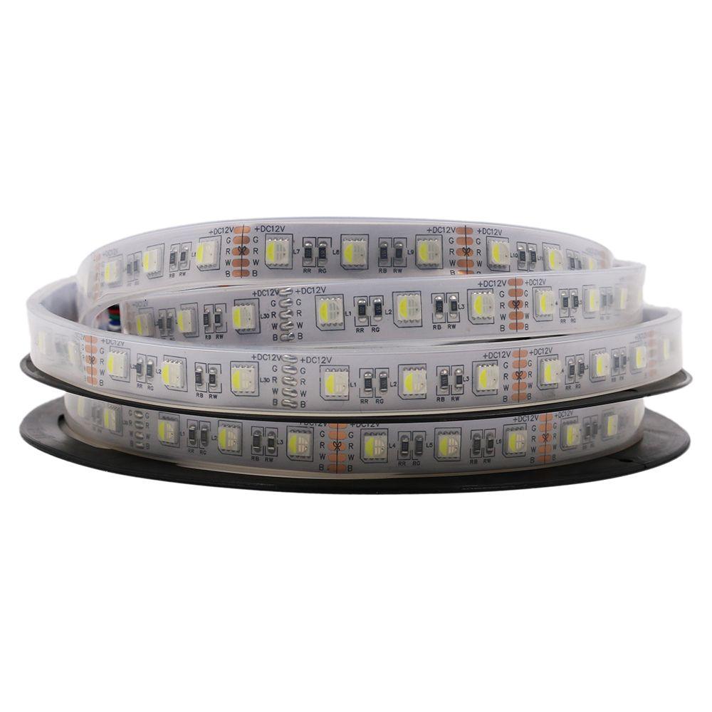 4 In 1 Rgbw Led Strip 5050 Dc12v Flexible Light Rgb+White / Rgb+Warm ...