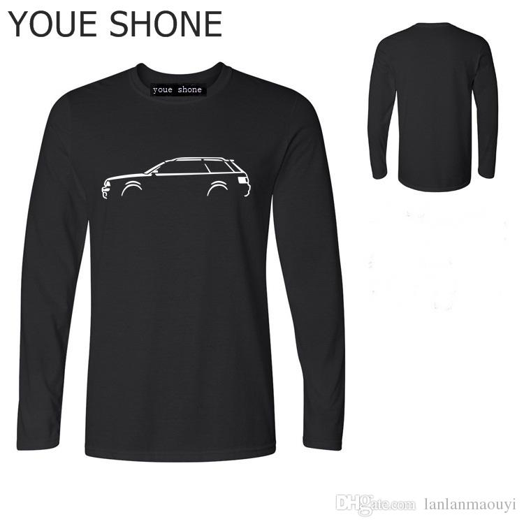 T-SHIRT da uomo TT S3 S6 S8 S8 RS RS6 RS4 T-Shirt da uomo T-shirt da uomo CARS T-SHIRT puro cotone a maniche lunghe Tees