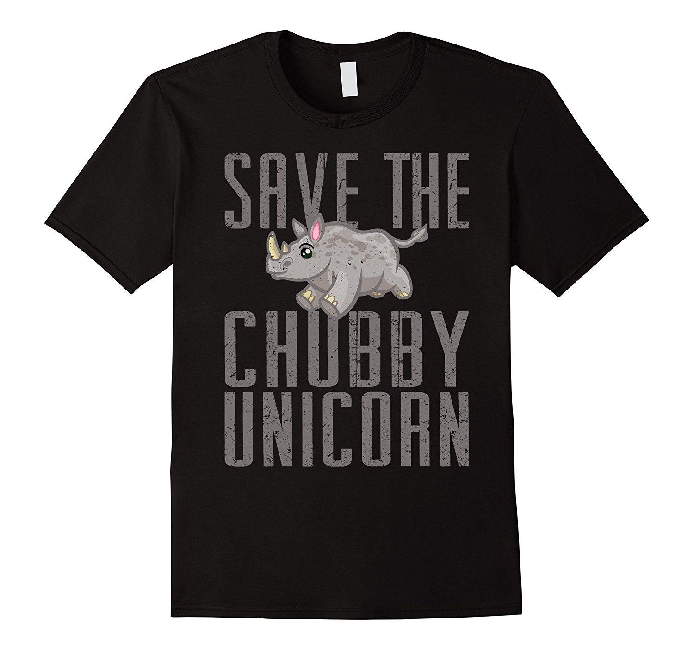 Sauver La Licorne Chubby - Drôle Rhino Animal Cadeau T-shirt 2017 Plus Récent De Mode Casual De Remise En Forme Hommes T-shirts Mignon Tatoo Amant