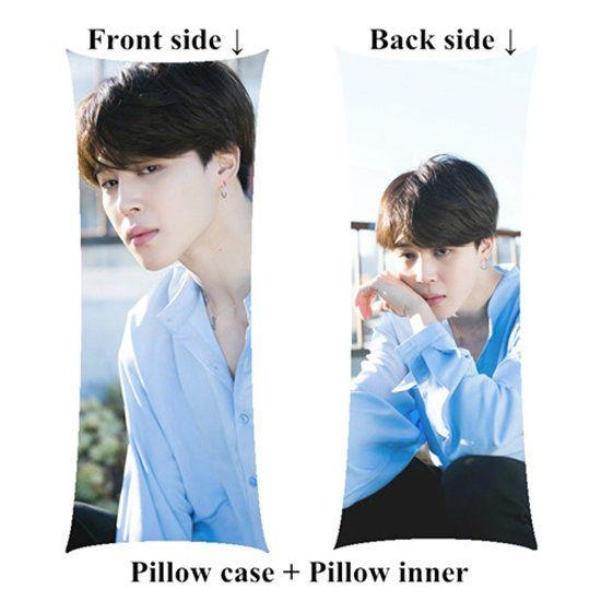Jimin long pillow kpop body Pillow include inner customize birthday girl gift