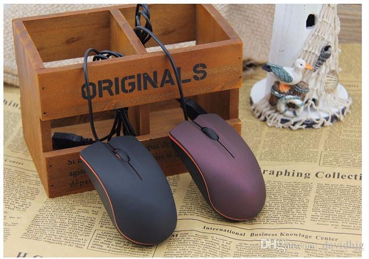 Lenovo mouse M20 Mini проводной 3D оптический USB Gaming Mouse мыши для компьютера ноутбук Game Mouse с розничной коробке 20 шт. DHL корабль бесплатно