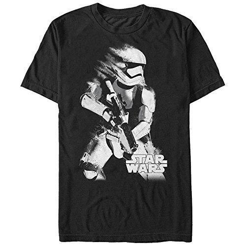 T-shirts d'été T-shirt Stormtrooper Fade pour hommes T-shirt manches courtes