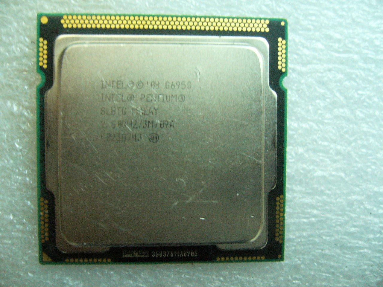 QTY 1x INTEL Pentium CPU G6950 2.8GHZ/3MB LGA1156 SLBTG SLBMS