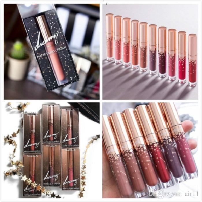 120 adet Nabla sıvı ruj 10 renkler Nabla dudak parlatıcısı yıldız lipgloss makyaj dudaklar güzellik yüksek kalite uzun ömürlü mat ruj