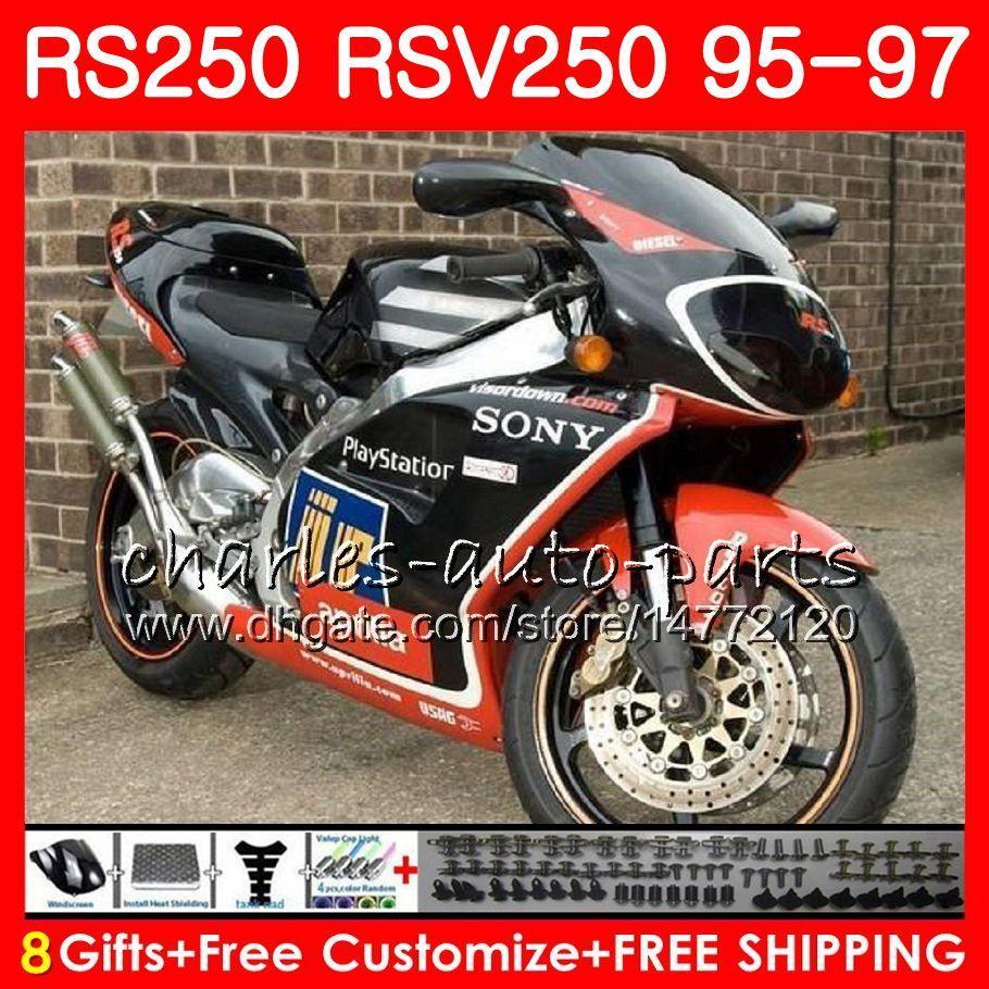 Nadwozie RSV250 RS250 95 96 97 Korpus 101HM6 RSV250RR RS250R 95 97 RSV 250 RR RS 250 1995 1996 1997 Owalnia