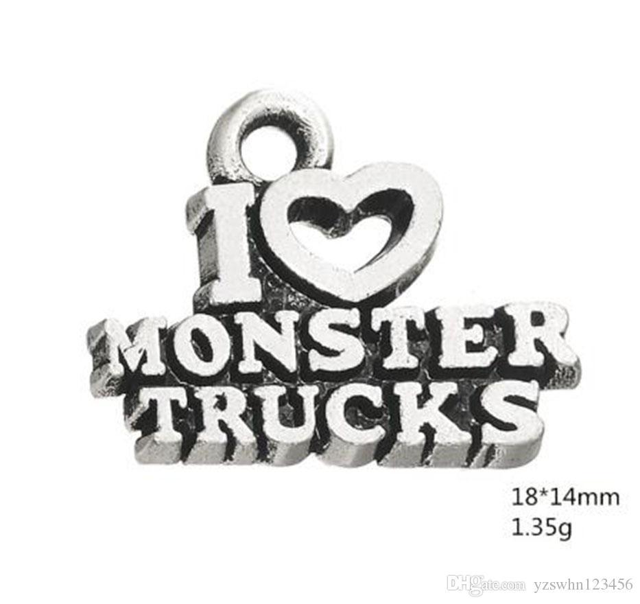 Palabra especial amo encantos de monstruos de camiones