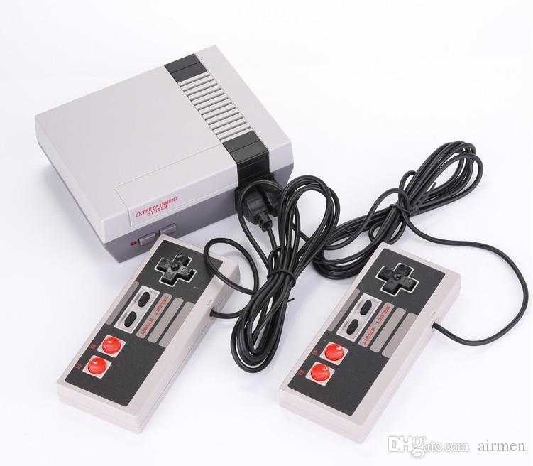 Mini TV Game Console Video المحمولة لأجهزة ألعاب NES مع صناديق البيع بالتجزئة