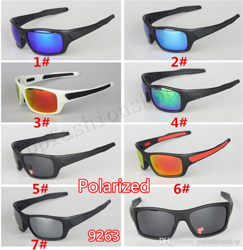 009263 Homens marca óculos de sol esportes ciclismo óculos de sol polarizados óculos de sol UV Proteção UV400 Reflexivo Revestimento Eyewear
