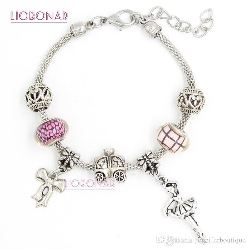 ballerina charm pandora bracelet