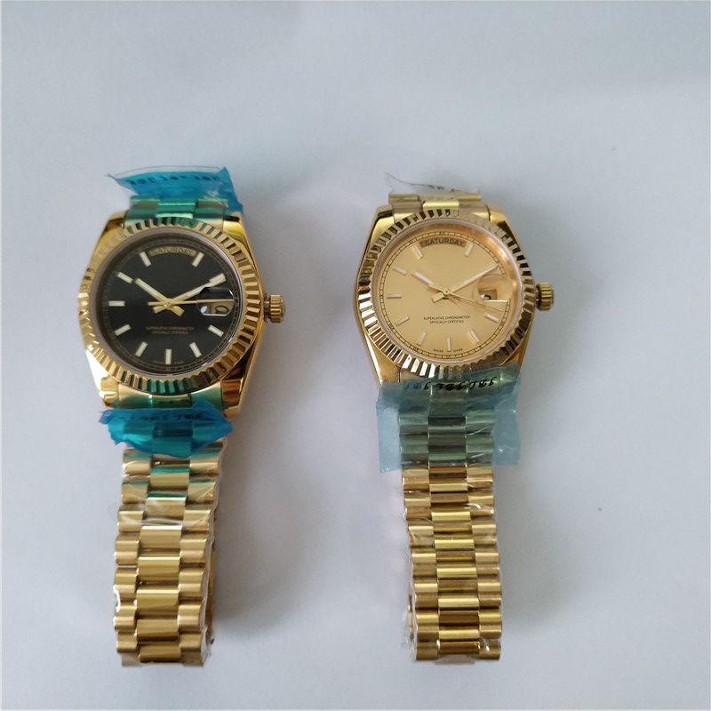 패션 복장 스타일 시계 클래식 망 기계식 시계 스테인레스 스틸 시계 127