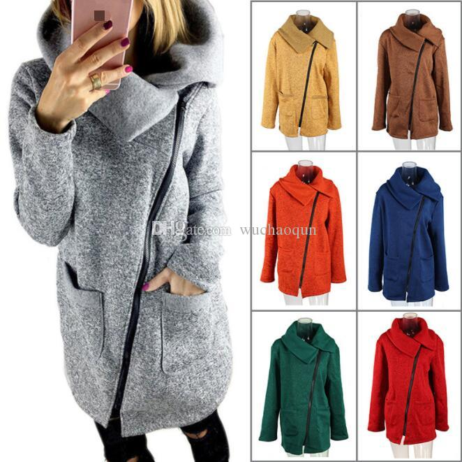 Men Hoodies Sweatshirt Casual Fleece Jacket Coat Turn-Down Collar Long Sleeve CB