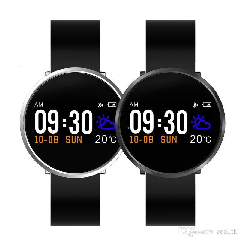 Finow S3 라운드 피트니스 트래커 컬러 LCD 스마트 밴드 혈압 심장 박동 손목 시계 스포츠 팔찌 IOS 안 드 로이드 전화에 대 한