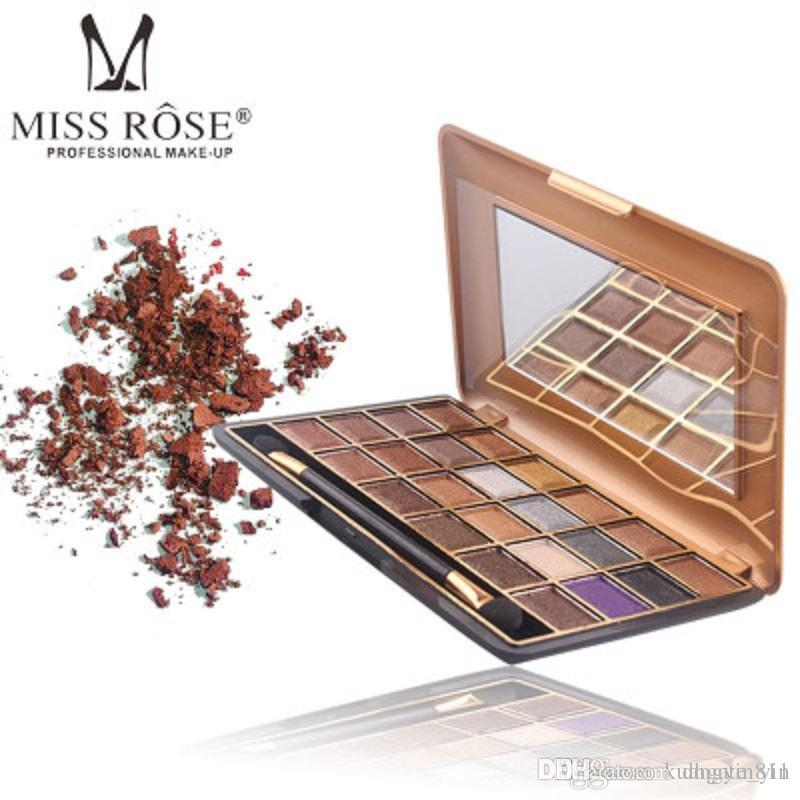 Hot Sale High Quality Miss Rose 24 Colors Shimmer matte Eyeshadow Palette Professional Eye Shadow Makeup Palette Natural Eye Cosmetics