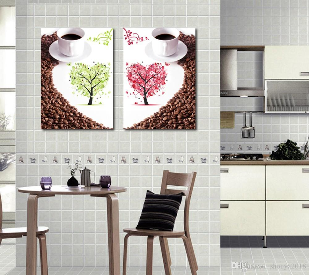 Wall Canvas Art Kitchen Wall Art Canvas Painting For Dining Room Canvas  Wall Art Home Decoration Decorative Stickers For Wall Decorative Stickers  For ...