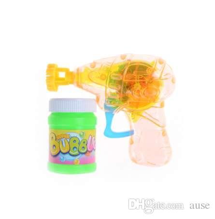 Nueva venta Bubble Gun Shooter Blower Niños Niños Juguetes Deportivos