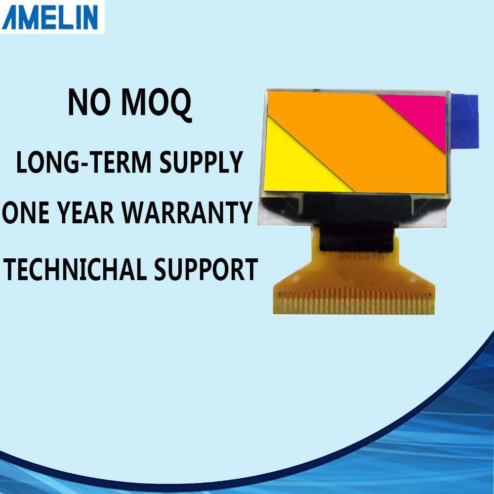 0,96 Zoll 12864 OLED-LCD-Display-Modul mit weißen Display Color AMOLED und SPI-Schnittstelle