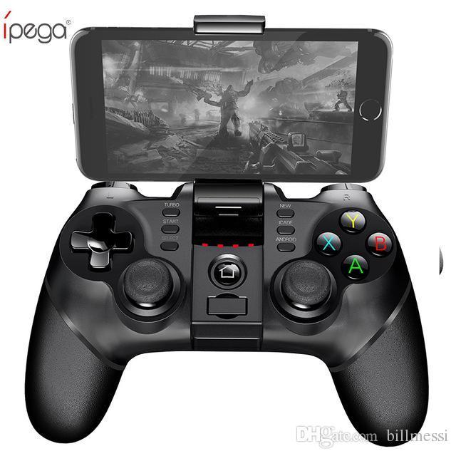 GP Gamepad Sem Fio iPega Bluetooth Controlador de Jogo Gamepad Lidar com TURBO Joystick para Android / iOS Tablet PC Celular TV Box