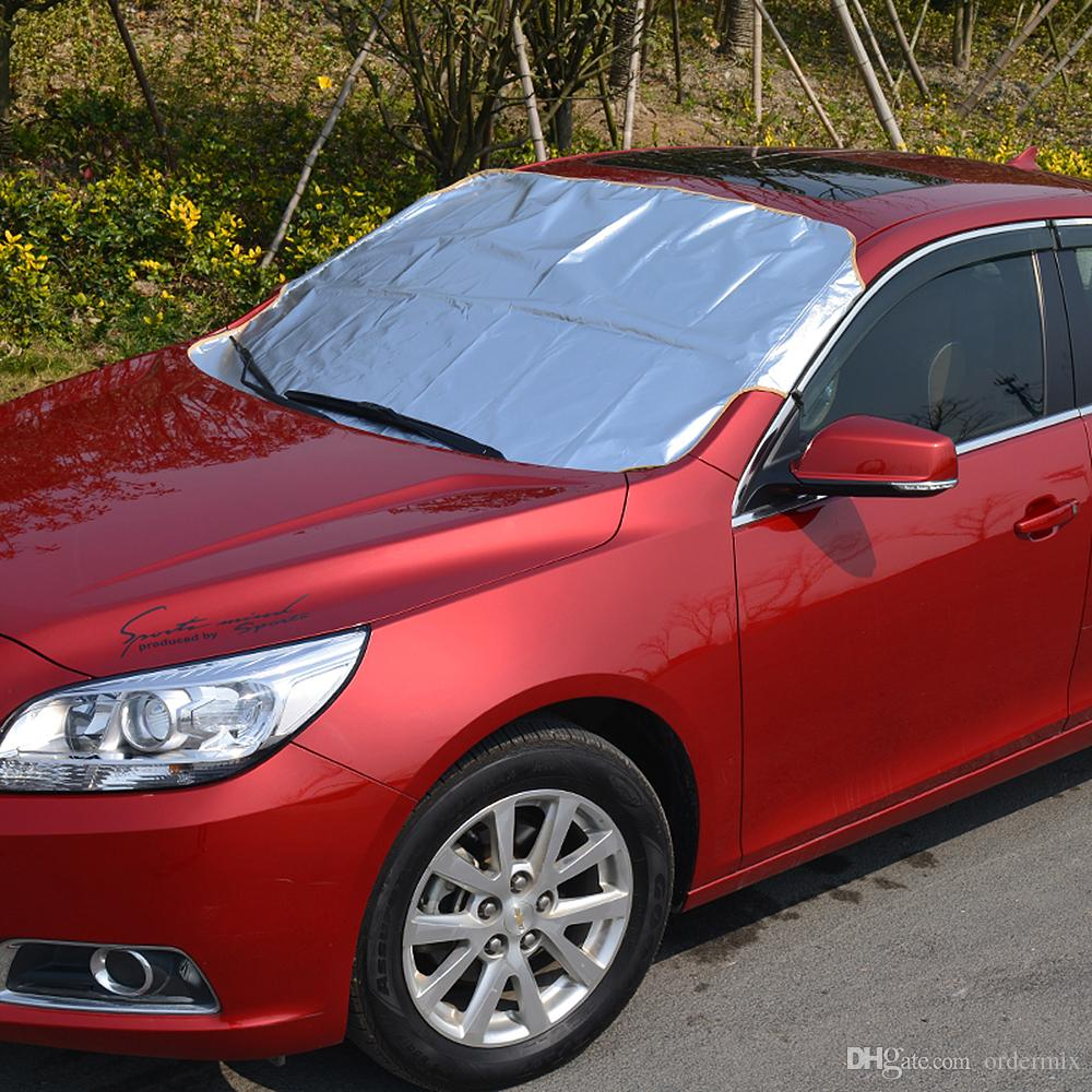 Car Windscreen Cover Universal Anti Frost Snow Ice Shield Dust Sun STORAGE BAG!!