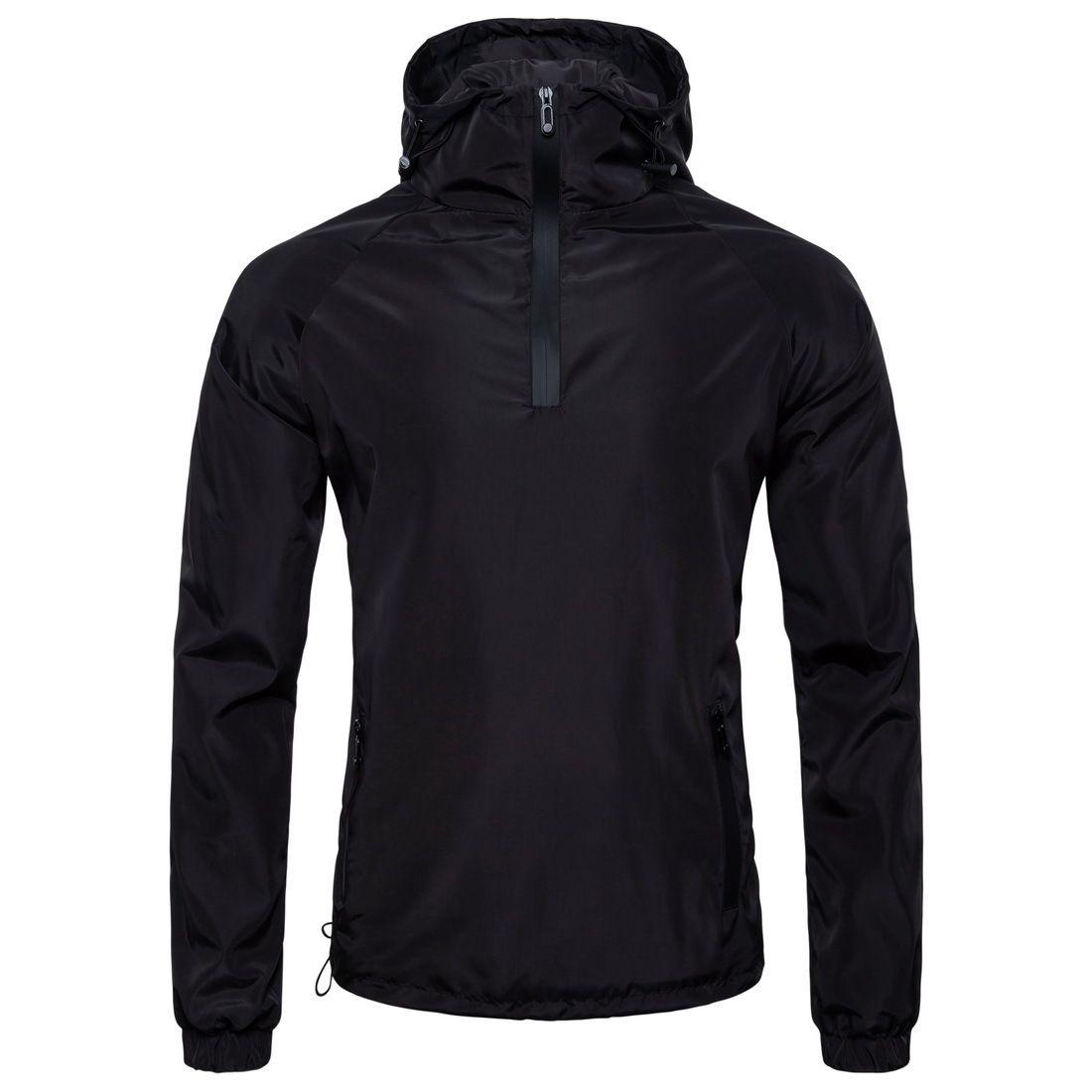 Kapşonlu Erkekler Palto Ceket Kış Erkek Siyah Katı Ceket Coat Yaka Artı boyutu eskitmek için Mens J180802 Standı hırka