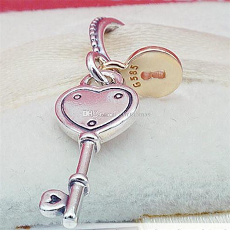 pandora chiave cuore