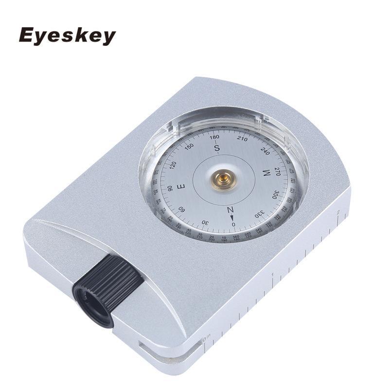 Poste de Sobrevivência Compass Bússola Impermeável Profissional Eyeskey bússola Exploração Geológica