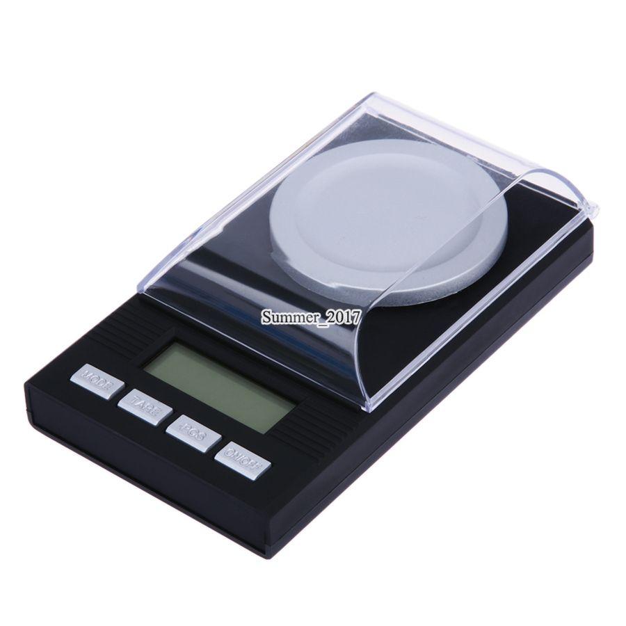 0.001 그램 전자 저울 LCD 디지털 규모 100 그램 /0.001 그램 보석 약초 휴대용 미니 실험실 무게 밀리그램 규모
