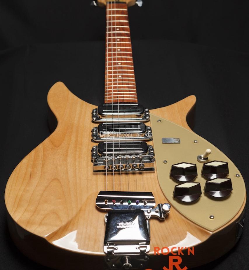 John Lennon/'s Guitars Pack of 6 Greeting Cards DL size