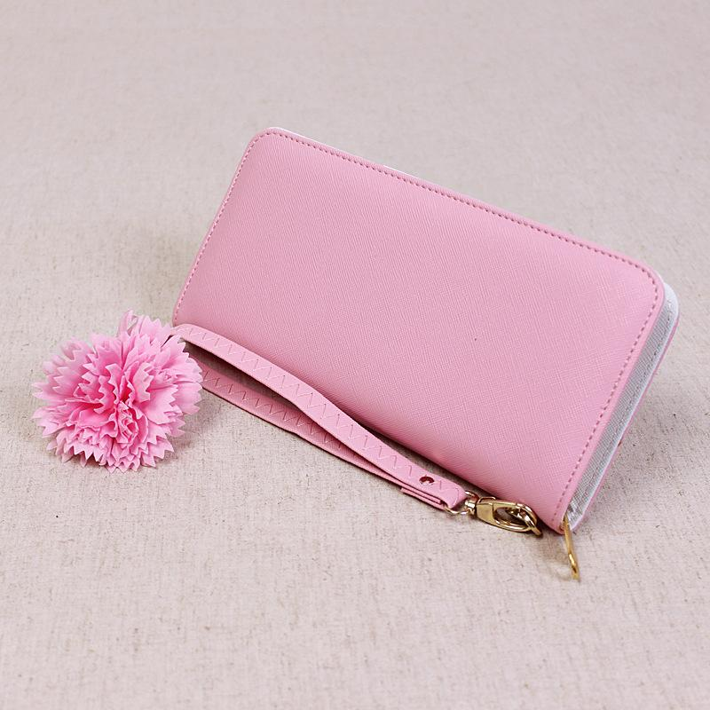 Simple Candy Color Women Wallet Purse Girls Lady Long Design Zipper Wallet Women Pu Leather Wallet Coin Card Purse Clutch Purse Designer Wallets For Women Wallet Brands From Kg2007 12 52 Dhgate Com