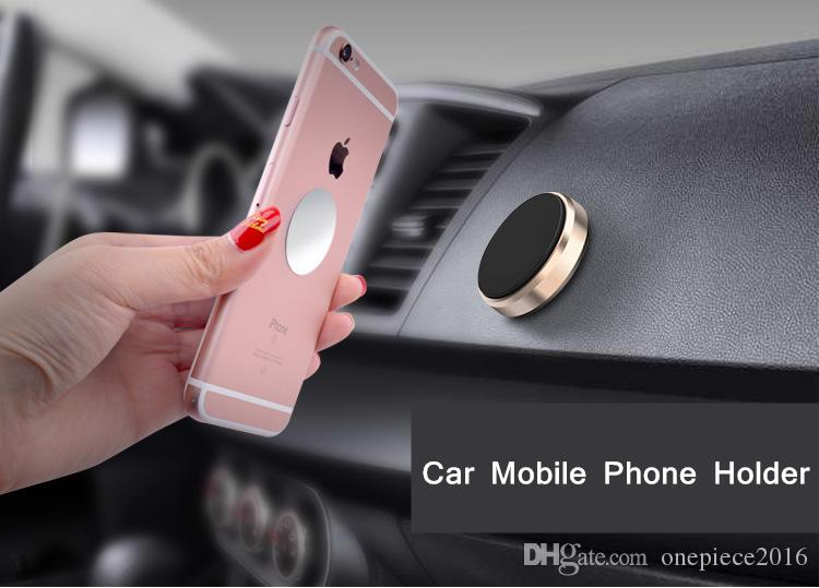 Mini Magnetic Mobile Phone Holder Car Dashboard Bracket Cell Phone Holder Stand For iPhone Samsung LG Magnet Mount Holder