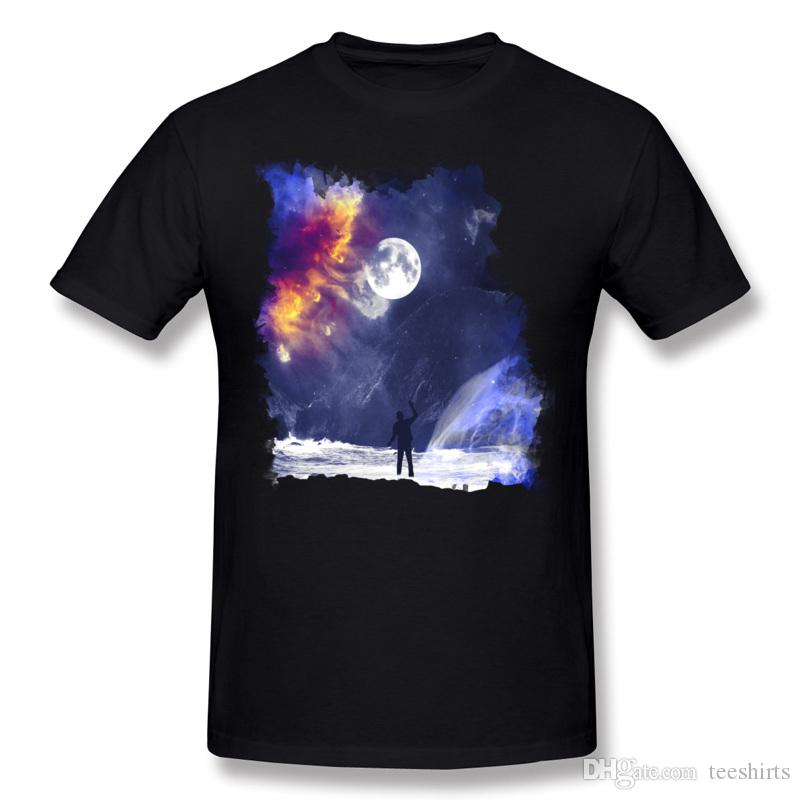 Descuento Hombre 100% algodón Encuentros en el fin del mundo Camiseta Hombre o cuello Blanco Camisetas de manga corta Camiseta personalizada de gran tamaño