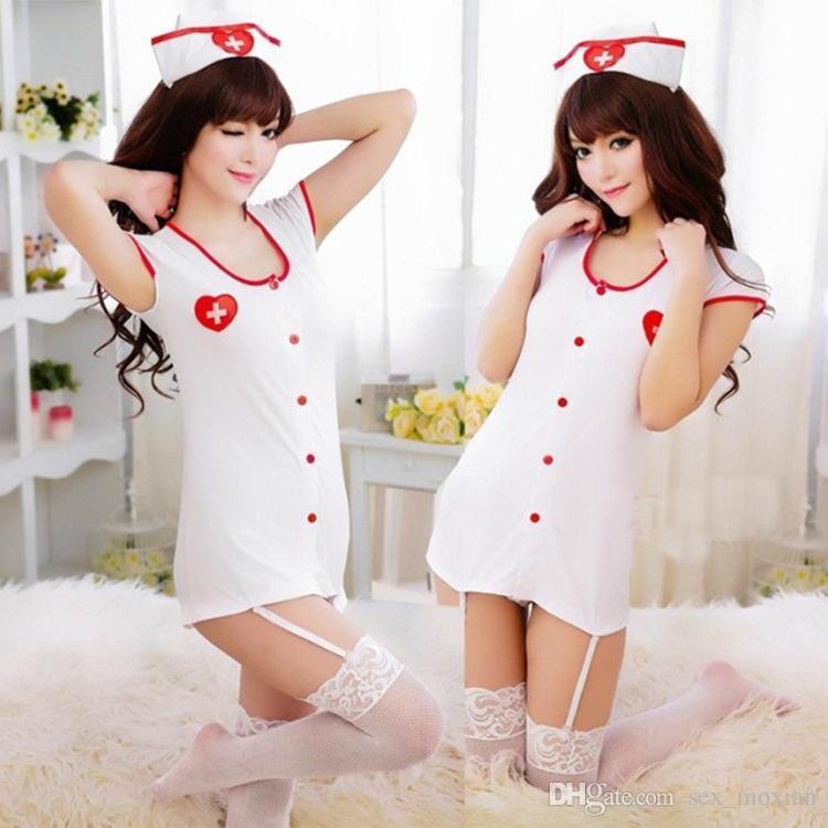 Медсестра одежда костюм большой размер взрослых женщин чувство равномерное искушение ролевая сексуальное нижнее белье игровой персонаж MOXIAN ночной клуб QN40A10194L