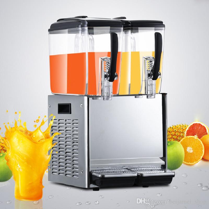 Beijamei 2 Танк 12*2L автоматические дозаторы сока коммерческие холодный сок питьевой машины фрукты напиток диспенсер машина
