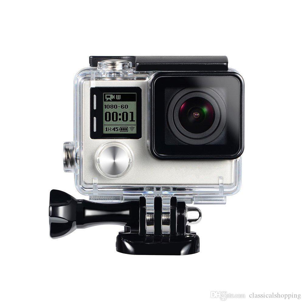 CARCASA submarina caso lente estándar de reemplazo para GoPro Hero 3 4