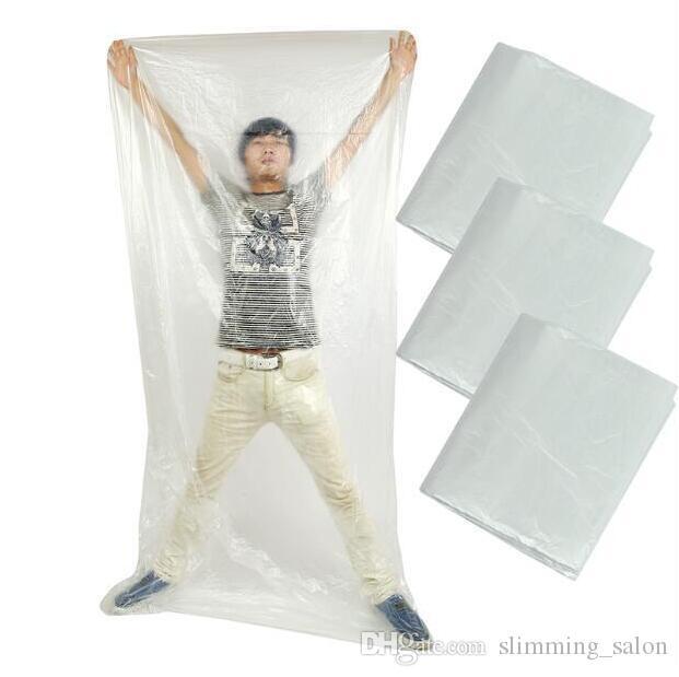 Consegna rapida !!! Foglio di plastica Per Body Wrap 120 * 220 centimetri / Per Insieme utilizzare per la sauna Blanket In vendita
