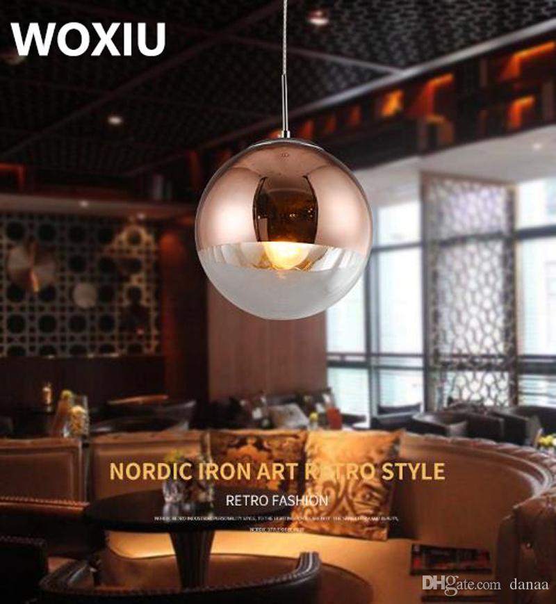 WOXIU Chandelier Crystal Ball Prism Pendant Glass Lamp Clear Drop Hanging Prisms Suncatcher Decor Pendants Faceted Lighting Home Light 30mm