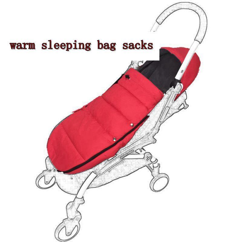 Sac de couchage pour poussette Newborn Baby Enveloppe chaude pour bugaboo Poussette Fleece Footmuff Sack Poussette pour bébé