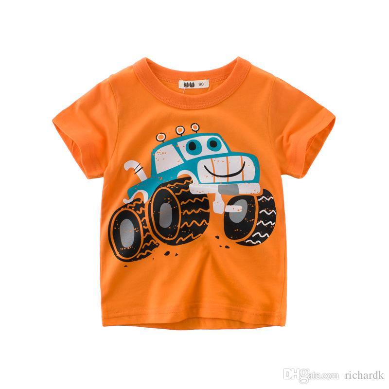 2018 летние дети футболки мальчиков одежда дети футболка Fille 100% хлопок Blaze печати Baby Boy одежда
