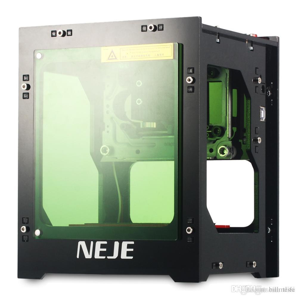NEJE DK - KZ 1000mW عالية الطاقة ليزر حفارة آلة قطع الطابعة متوافق مع ويندوز XP / 7/8/10 طابعة 3D شحن مجاني VB