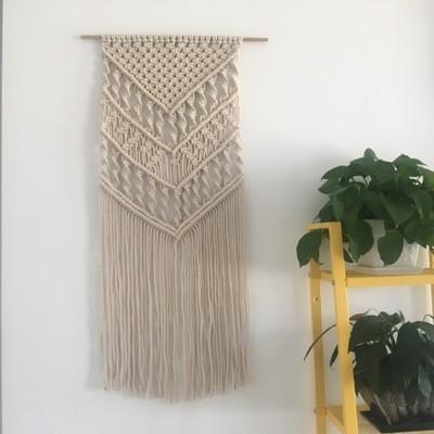 cortina de macramé paso a paso