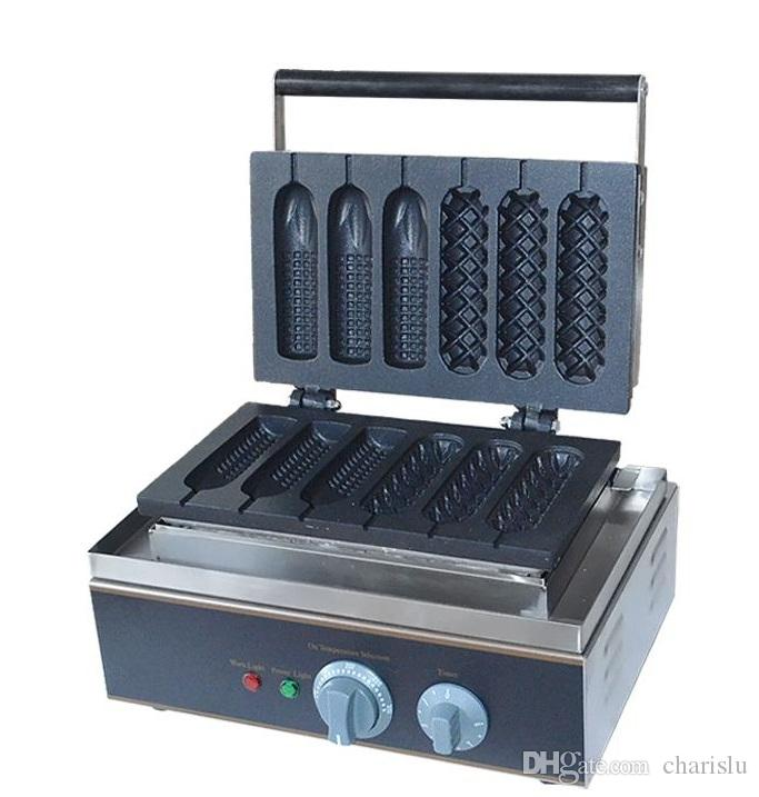 الشحن مجانا 2 جهاز كمبيوتر شخصى / الكثير 110V آلة صانع 220V الذرة المصاصة الهراء للاستخدام التجاري هوت دوج صناع