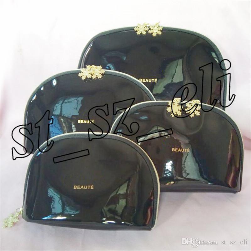Famous Cosmetic Organizer Makeup Bag Travel Pouch Make Up Bag Toiletry Bag 4pcs/Set