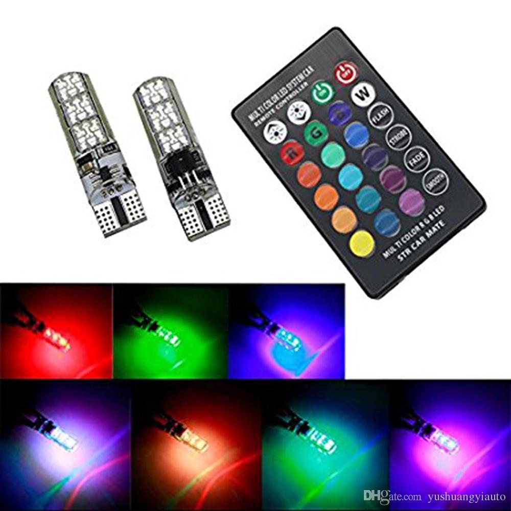 LED 5630 6SMD White License Plate Tag Light Bulb T10 158 161 168 194 2825 3652