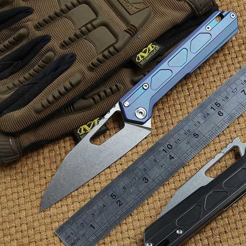 NOC MT 03 Tactics Folding Knife M390 Blade KVT Ball Bearing Titanium Handle  Camping Hunting Outdoor Survival Knives EDC Tools Canada 2019 From