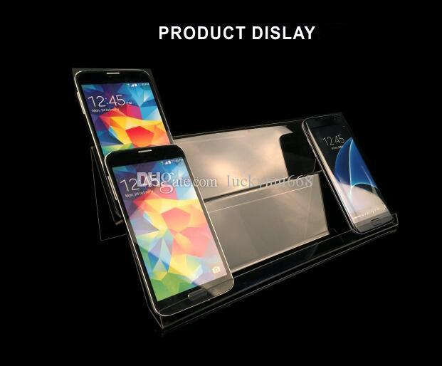 Hot sale Multifunction Long Shelf Mobile cell Phone display stand U Disk Jewelry Holder Digital Products cigarette Wallet display Rack 5pcs