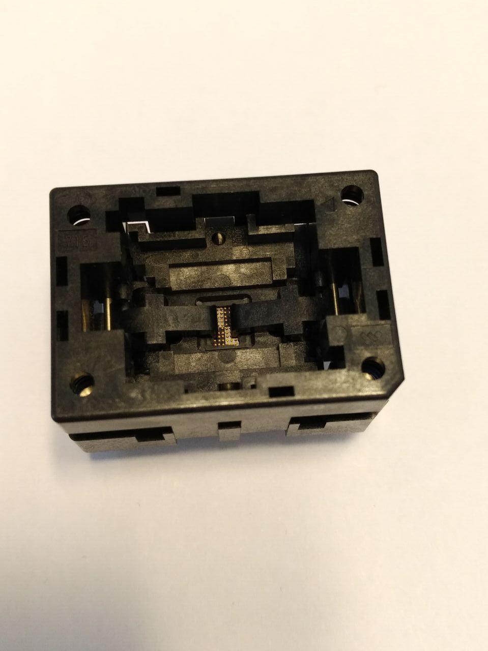 Wells-cti IC Test Soketi 715-05206-504-AO BGA52P 0.5mm Pitch 6x6mm sokette yanmak