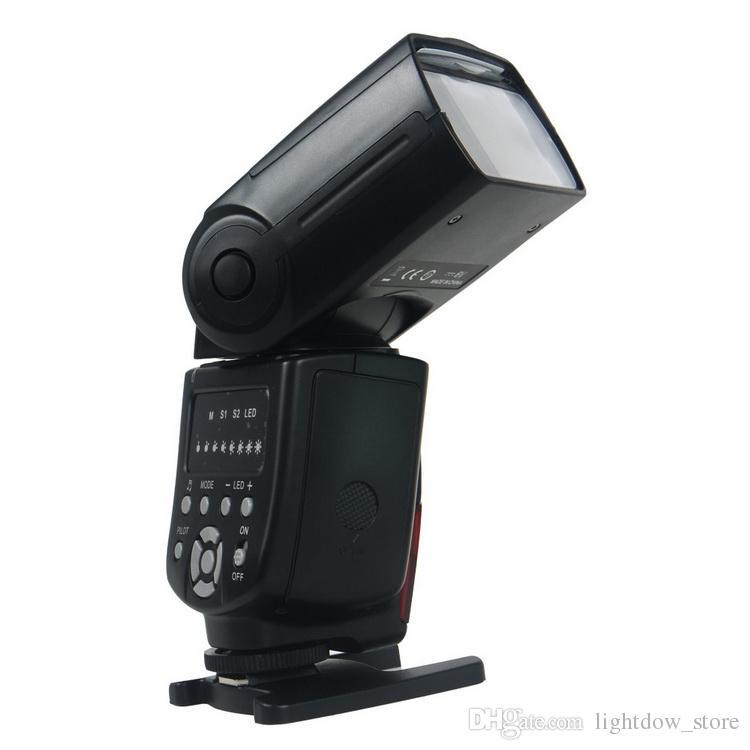 Wireless Flash Speedlite Camera Flash for Nikon D3300 D5300 D7100 for Canon 5D Mark II III Sony Pentax Olympus Fujifilm Digital Cameras