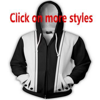 Новая мода пары Мужчины Женщины унисекс аниме Наруто 3D печати куртки молнии с капюшоном пуловеры толстовки топы Z10