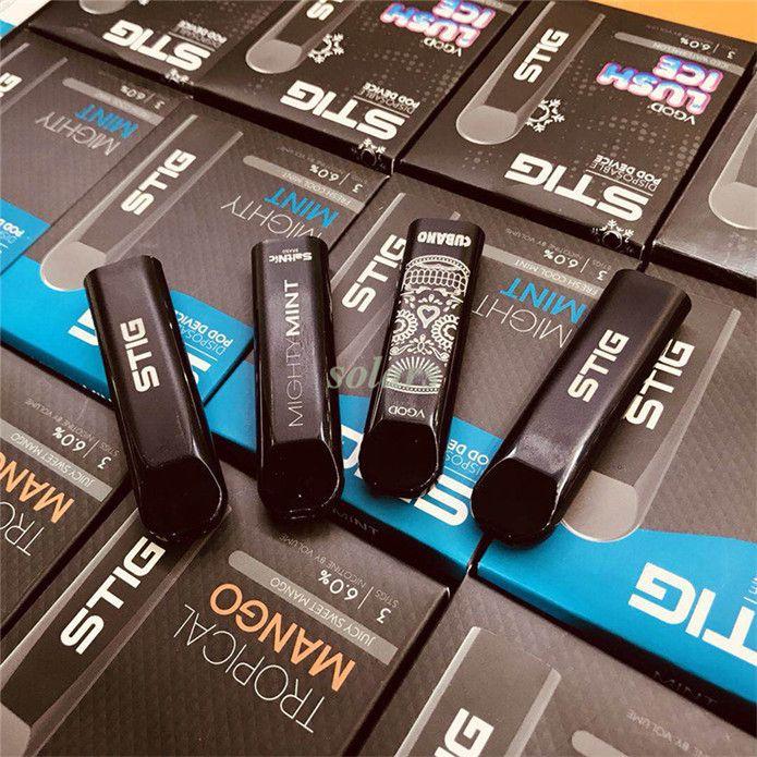 Vgod Stig Pod Kit 270mAh Full Charged Disposable Vape Pen E Cig With 1 2ml  Portable Aio System Best Starter E Cig Kit Best Starter Kit From Solars,