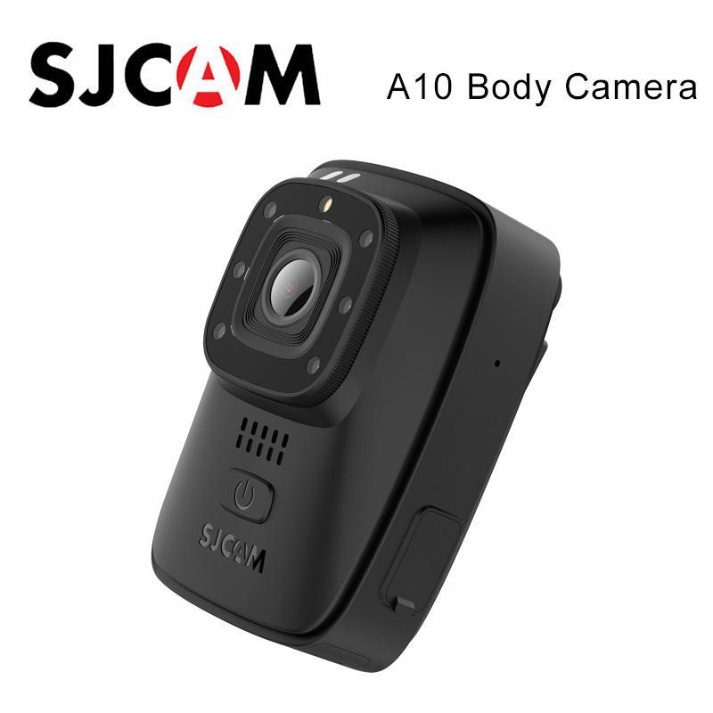 الأصلي SJCAM A10 جسم الكاميرا المحمولة لبس الأمن كاميرا الأشعة تحت الحمراء للرؤية الليلية ليزر لتحديد المواقع عمل الكاميرا