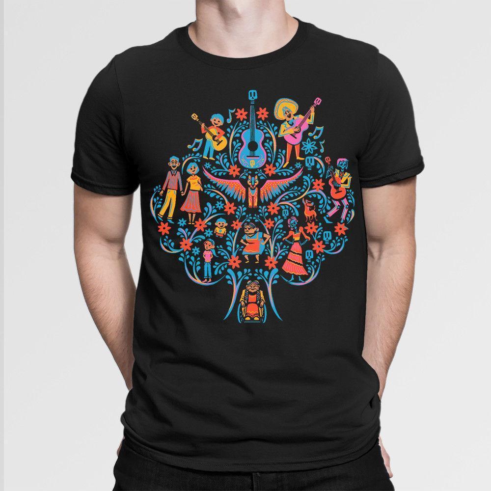 Family Tree Graphic Printed Men/'s T-Shirt